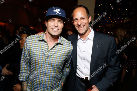 WESTWOOD, CA - JUNE 04: Robert Van Winkle and Sony's Jonathan Kaden at the afterparty for Columbia Pictures Premiere of 'That's My Boy' at Regency Village Theatre on June 4, 2012 in Westwood, California. Robert Van Winkle Jonathan Kaden