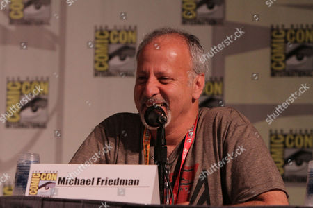 SAN DIEGO, CA - JULY 14: Michael Friedman at Sony Pictures 'After Earth' Panel At 2012 Comic-Con Convention At 2012 Comic-Con Convention at San Diego Convention Center on July 14, 2012 in San Diego, California. Michael Friedman