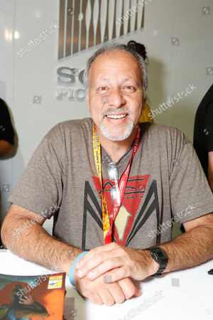 SAN DIEGO, CA - JULY 14: Michael Friedman at Sony Pictures 'After Earth' Autograph Signing At 2012 Comic-Con Convention at San Diego Convention Center on July 14, 2012 in San Diego, California. Michael Friedman