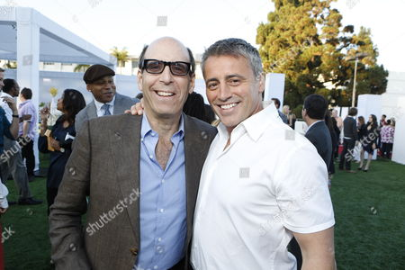 BEVERLY HILLS, CA - JULY 29: Showtime's Matthew C. Blank and Matt LeBlanc at Showtime's 2012 Summer TCA Party at The Pagoda on July 29, 2012 in Beverly Hills, California.