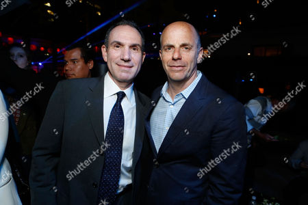 HOLLYWOOD, CA - AUGUST 01: Producer Toby Jaffe and Producer Neal H. Moritz at Premiere of Columbia Pictures 'Total Recall' at Grauman's Chinese Theatre on August 1, 2012 in Hollywood, California. Toby Jaffe Neal H. Moritz