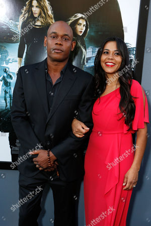 Editorial photo of Premiere Of Columbia Pictures 'Total Recall' Hollywood Los Angeles, America.