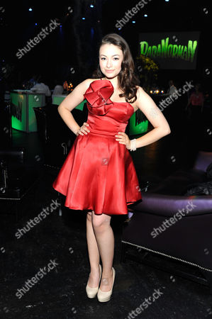 UNIVERSAL CITY, CA - AUGUST 05: Jodelle Ferland at Focus Features 'ParaNorman' World Premiere at The Globe Theatre at Universal Studios on August 5, 2012 in Universal City, California. Jodelle Ferland