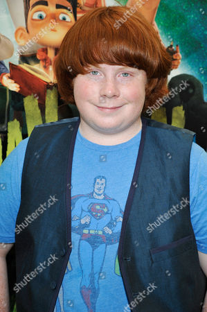 UNIVERSAL CITY, CA - AUGUST 05: Tucker Albrizzi at Focus Features 'ParaNorman' World Premiere at The Globe Theatre at Universal Studios on August 5, 2012 in Universal City, California. Tucker Albrizzi