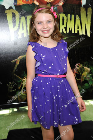 UNIVERSAL CITY, CA - AUGUST 05: Madison Moellers at Focus Features 'ParaNorman' World Premiere at The Globe Theatre at Universal Studios on August 5, 2012 in Universal City, California. Madison Moellers