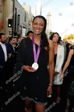 Stock Picture of HOLLYWOOD, CA - AUGUST 15: Danielle Scott Aruda at Lionsgate World Premiere Of 'The Expendables 2' held at Grauman's Chinese Theatre on August 15, 2012 in Hollywood, California. Danielle Scott Aruda