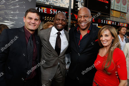 HOLLYWOOD, CA - AUGUST 15: Lionsgate's Jason Constantine, Terry Crews and Tommy Lister at Lionsgate World Premiere Of 'The Expendables 2' held at Grauman's Chinese Theatre on August 15, 2012 in Hollywood, California. Jason Constantine Terry Crews Tommy Lister