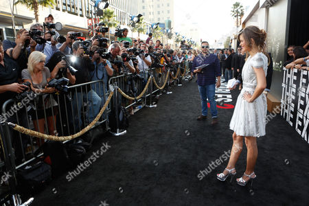 HOLLYWOOD, CA - AUGUST 15: Nikolette Noel at Lionsgate World Premiere Of 'The Expendables 2' held at Grauman's Chinese Theatre on August 15, 2012 in Hollywood, California. Nikolette Noel