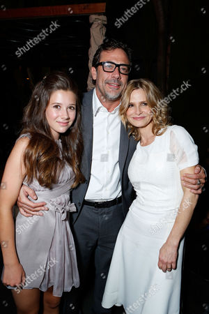 HOLLYWOOD, CA - AUGUST 28: Natasha Calis, Jeffrey Dean Morgan, and Kyra Sedgwick arrive at Lionsgate's 'The Possession' Los Angeles Premiere at ArcLight Cinemas on August 28, 2012 in Hollywood, California. . Natasha Calis Jeffrey Dean Morgan Kyra Sedgwick