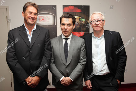 TORONTO, ON - SEPTEMBER 07: Producer Tim Bevan, Director Joe Wright and Producer Paul Webster at Focus Features 'Anna Karenina' Premiere At 2012 Toronto International Film Festival at The Elgin on September 7, 2012 in Toronto, Canada. Tim Bevan Joe Wright Paul Webster