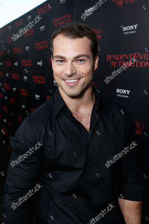 LOS ANGELES, CA - SEPTEMBER 12: Shawn Roberts at Screen Gems 'Resident Evil: Retribution' Premiere held at Regal Cinemas L.A. Live on September 12, 2012 in Los Angeles, California. Shawn Roberts