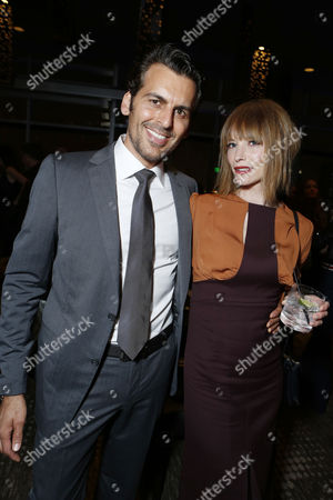 LOS ANGELES, CA - SEPTEMBER 12: Oded Fehr and Sienna Guillory at Screen Gems 'Resident Evil: Retribution' Premiere held at Regal Cinemas L.A. Live on September 12, 2012 in Los Angeles, California.