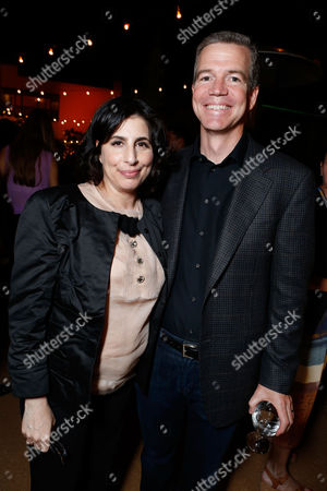 WESTWOOD, CA - SEPTEMBER 19: Warner Bros.' Sue Kroll and Director Robert Lorenz at The World Premiere Of Warner Bros. Pictures' 'Trouble With The Curve' held at Mann Village Theatre on September 19, 2012 in Westwood, California. Robert Lorenz Sue Kroll