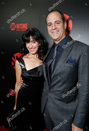 WEST HOLLYWOOD, CA - SEPTEMBER 22: Andrea Nevins and Showtime's David Nevins at Showtime's 2012 'EMMYEVE' Soiree held at Sunset Tower on September 22, 2012 in West Hollywood, California. Andrea Nevins David Nevins