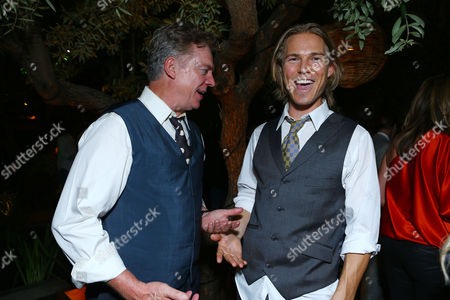 WEST HOLLYWOOD, CA - SEPTEMBER 22: Christopher McDonald and Jilon VanOver at HISTORY Pre-EMMY Party held at Soho House on September 22, 2012 in West Hollywood, California. Jilon VanOver Christopher McDonald