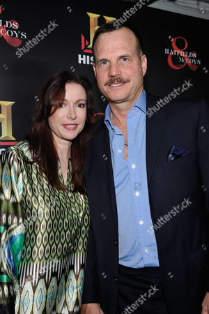 WEST HOLLYWOOD, CA - SEPTEMBER 22: Louise Newbury and Bill Paxton at HISTORY Pre-EMMY Party held Soho House on September 22, 2012 in West Hollywood, California. Louise Newbury Bill Paxton