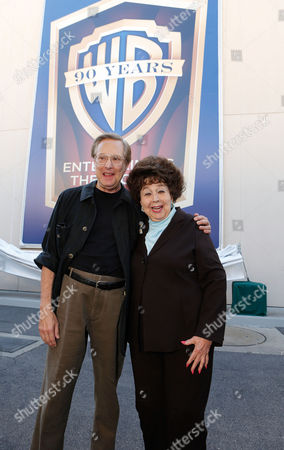 BURBANK, CA - OCTOBER 03: Director William Friedkin and Jane Withers at Warner Bros. Home Entertainment 2013 Year-Long 90th Anniversary Global Celebration held at Warner Bros. Studios on October 3, 2012 in Burbank, California. William Friedkin Jane Withers