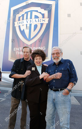 BURBANK, CA - OCTOBER 03: Director William Friedkin, Jane Withers and Bill Gold at Warner Bros. Home Entertainment 2013 Year-Long 90th Anniversary Global Celebration held at Warner Bros. Studios on October 3, 2012 in Burbank, California. William Friedkin Jane Withers Bill Gold