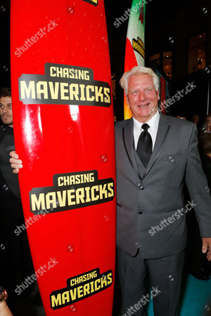 LOS ANGELES, CA - OCTOBER 18: Frosty Hesson at Twentieth Century Fox And Walden Media Special Screening Of 'Chasing Mavericks' at Pacific Theatre at The Grove on October 18, 2012 in Los Angeles, California. Frosty Hesson