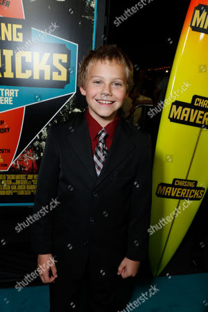 LOS ANGELES, CA - OCTOBER 18: Cooper Timberline at Twentieth Century Fox And Walden Media Special Screening Of 'Chasing Mavericks' at Pacific Theatre at The Grove on October 18, 2012 in Los Angeles, California. Cooper Timberline