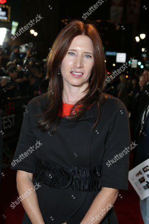 Stock Image of HOLLYWOOD, CA - NOVEMBER 01: Editor Pamela Martin at the World Premiere Of Fox Searchlight 'Hitchcock' at the Opening Night Of AFI Film Festival held at Grauman's Chinese Theatre on November 1, 2012 in Hollywood, California. Pamela Martin