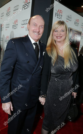 Stock Photo of HOLLYWOOD, CA - NOVEMBER 01: Ed Lauter and Mia Lauter at the World Premiere Of Fox Searchlight 'Hitchcock' at the Opening Night Of AFI Film Festival held at Grauman's Chinese Theatre on November 1, 2012 in Hollywood, California. Ed Lauter Mia Lauter