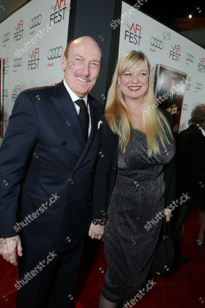 HOLLYWOOD, CA - NOVEMBER 01: Ed Lauter and Mia Lauter at the World Premiere Of Fox Searchlight 'Hitchcock' at the Opening Night Of AFI Film Festival held at Grauman's Chinese Theatre on November 1, 2012 in Hollywood, California. Ed Lauter Mia Lauter