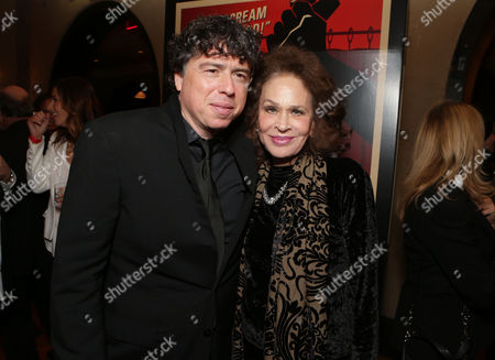Stock Image of HOLLYWOOD, CA - NOVEMBER 01: Director Sacha Gervasi and Karen Black at the World Premiere Of Fox Searchlight 'Hitchcock' at the Opening Night Of AFI Film Festival held at Grauman's Chinese Theatre on November 1, 2012 in Hollywood, California. Sacha Gervasi Karen Black