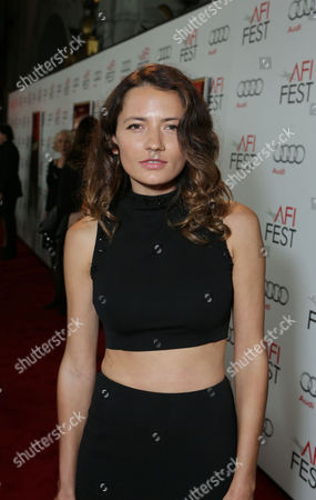 HOLLYWOOD, CA - NOVEMBER 01: Karina Deyko at World Premiere Of Fox Searchlight 'Hitchcock' at the Opening Night Of AFI Film Festival held at Grauman's Chinese Theatre on November 1, 2012 in Hollywood, California. Karina Deyko