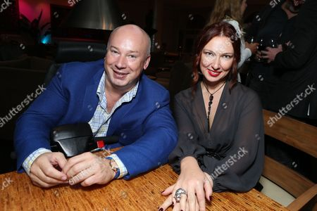 Editorial photo of The Russian Cinema Fund Cocktail Reception At The American Film Market