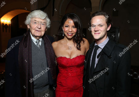 Stock Image of HOLLYWOOD, CA - NOVEMBER 08: Hal Holbrook, Gloria Reuben and Joseph Cross at The World Premiere of DreamWorks Pictures 'Lincoln' At The AFI FEST 2012 held at Grauman's Chinese Theatre on November 8, 2012 in Hollywood, California. Copyright info: 2012 DreamWorks II Distribution Co., LLC and Twentieth Century Fox Film Corporation. All Rights Reserved. 'Hal Holbrook Gloria Reuben Joseph Cross