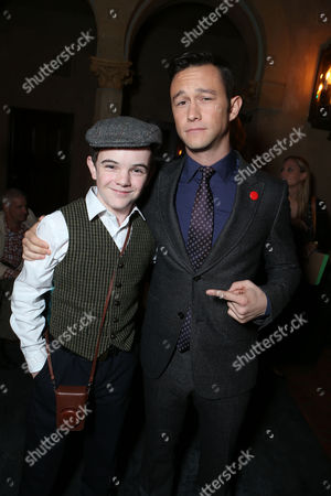 HOLLYWOOD, CA - NOVEMBER 08: Gulliver McGrath and Joseph Gordon-Levitt at The World Premiere of DreamWorks Pictures 'Lincoln' At The AFI FEST 2012 held at Grauman's Chinese Theatre on November 8, 2012 in Hollywood, California. Copyright info: 2012 DreamWorks II Distribution Co., LLC and Twentieth Century Fox Film Corporation. All Rights Reserved. 'Joseph Gordon-Levitt Gulliver McGrath