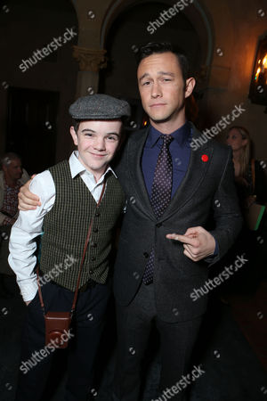 HOLLYWOOD, CA - NOVEMBER 08: Gulliver McGrath and Joseph Gordon-Levitt at The World Premiere of DreamWorks Pictures 'Lincoln' At The AFI FEST 2012 held at Grauman's Chinese Theatre on November 8, 2012 in Hollywood, California. Copyright info: 2012 DreamWorks II Distribution Co., LLC and Twentieth Century Fox Film Corporation. All Rights Reserved. Joseph Gordon-Levitt Gulliver McGrath