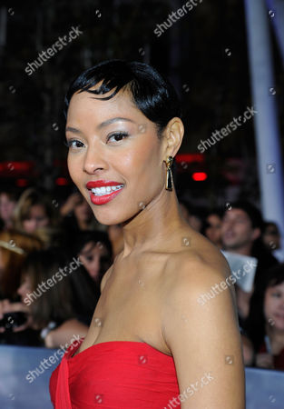 LOS ANGELES, CA - NOVEMBER 12: Tracey Heggins at The World Premiere of Summit Entertainment, a Lionsgate Company, 'The Twilight Saga: Breaking Dawn - Part 2' at Nokia Theatre L.A. Live on November 12, 2012 in Los Angeles, California. Tracey Heggins