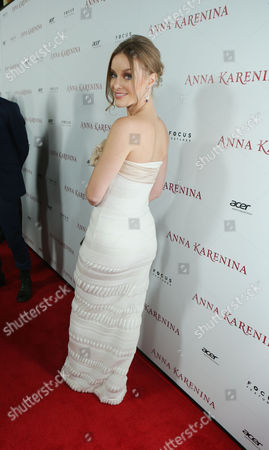 Editorial photo of Focus Features 'Anna Karenina' Los Angeles Premiere Sponsored By ACER Hollywood Los Angeles, America.