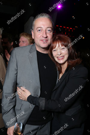 HOLLYWOOD, CA - NOVEMBER 14: Director of Photography Seamus McGarvey and Frances Fisher at Focus Features 'Anna Karenina' Los Angeles Premiere Sponsored By ACER held at ArcLight Hollywood on November 14, 2012 in Hollywood, California. Seamus McGarvey Frances Fisher