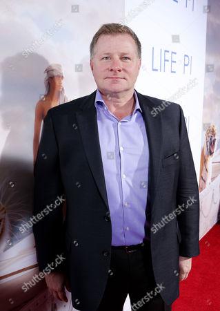 LOS ANGELES, CA - NOVEMBER 16: screenwriter David Magee at Twentieth Century Fox and Fox 2000 Present 'Life of Pi' Special Screening held at Zanuck Theater at 20th Century Fox Lot on November 16, 2012 in Los Angeles, California. David Magee