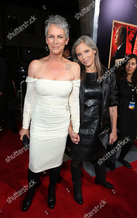 Stock Image of BEVERLY HILLS, CA - NOVEMBER 20: Jamie Lee Curtis and Kelly Lee Curtis at Fox Searchlight Pictures' 'Hitchcock' Los Angeles Premiere held at AMPAS Samuel Goldwyn Theater on November 20, 2012 in Beverly Hills, California. Jamie Lee Curtis Kelly Lee Curtis