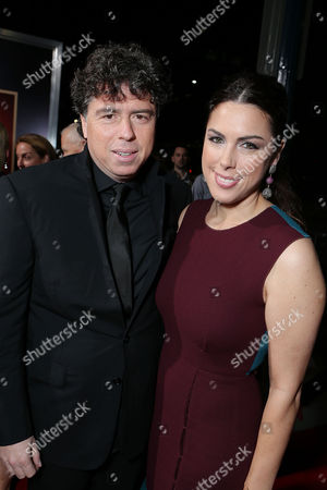 BEVERLY HILLS, CA - NOVEMBER 20: Director Sacha Gervasi and wife Jessica de Rothschild at Fox Searchlight Pictures' 'Hitchcock' Los Angeles Premiere held at AMPAS Samuel Goldwyn Theater on November 20, 2012 in Beverly Hills, California. Sacha Gervasi Jessica de Rothschild