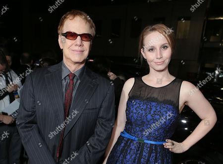 BEVERLY HILLS, CA - NOVEMBER 20: Composer Danny Elfman and Mali Elfman at Fox Searchlight Pictures' 'Hitchcock' Los Angeles Premiere held at AMPAS Samuel Goldwyn Theater on November 20, 2012 in Beverly Hills, California. Danny Elfman Mali Elfman