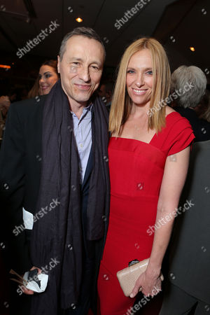 BEVERLY HILLS, CA - NOVEMBER 20: Michael Wincott and Toni Collette at Fox Searchlight Pictures' 'Hitchcock' Los Angeles Premiere at AMPAS Samuel Goldwyn Theater on November 20, 2012 in Beverly Hills, California. Michael Wincott Toni Collette
