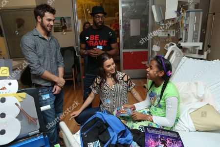 LOS ANGELES, CA - NOVEMBER 26: Ryan Guzman, Stephen 'tWitch' Boss and Kathryn McCormick at 'Step Up Revolution' DVD holiday screening at Children's HospitalÊLos Angeles on November 26, 2012 in Los Angeles, California. Stephen 'tWitch' Boss Kathryn McCormick Ryan Guzman