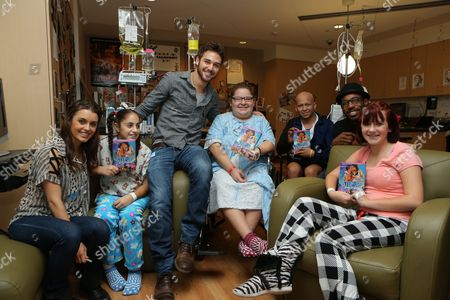 LOS ANGELES, CA - NOVEMBER 26: Kathryn McCormick, Ryan Guzman and Stephen 'tWitch' Boss at 'Step Up Revolution' DVD holiday screening at Children's HospitalÊLos Angeles on November 26, 2012 in Los Angeles, California. Stephen 'tWitch' Boss Kathryn McCormick Ryan Guzman