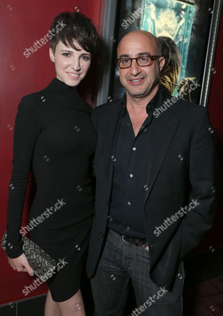 HOLLYWOOD, CA - NOVEMBER 26: Emma Fitzpatrick and LD Entertainment's David Dinerstein at LD Entertainment Special Screening of 'The Collection' at ArcLight Hollywood on November 26, 2012 in Hollywood, California. Emma Fitzpatrick David Dinerstein