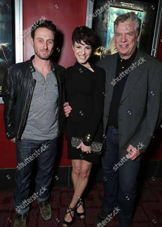 HOLLYWOOD, CA - NOVEMBER 26: Josh Stewart, Emma Fitzpatrick and Christopher McDonald at LD Entertainment Special Screening of 'The Collection' at ArcLight Hollywood on November 26, 2012 in Hollywood, California. Josh Stewart Emma Fitzpatrick Christopher McDonald