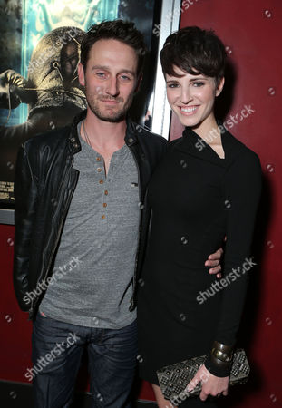 HOLLYWOOD, CA - NOVEMBER 26: Josh Stewart and Emma Fitzpatrick at LD Entertainment Special Screening of 'The Collection' at ArcLight Hollywood on November 26, 2012 in Hollywood, California. Josh Stewart Emma Fitzpatrick