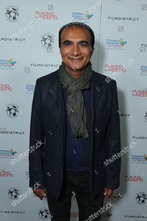 HOLLYWOOD, CA - NOVEMBER 28: Iqbal Theba at Soccer of Hope Special Screening of FilmDistrict's 'Playing For Keeps' Benefiting Children's Hospital Los Angeles at ArcLight Hollywood on November 28, 2012 in Hollywood, California. Iqbal Theba