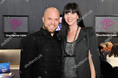 BEVERLY HILLS, CA - NOVEMBER 30: Joshua Christensen and Mila Hermanovski at the VIP Shopping Party of Project Angel Food's Divine Design 2012 Presented by Time Warner Cable held at Divine Design Market Place on November 30, 2012 in Beverly Hills, California. Joshua Christensen Mila Hermanovski