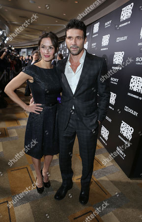 HOLLYWOOD, CA - DECEMBER 10: Wendy Moniz and Frank Grillo at Columbia Pictures 'Zero Dark Thirty' Premiere at Dolby Theatre on December 10, 2012 in Hollywood, California. Frank Grillo Wendy Moniz