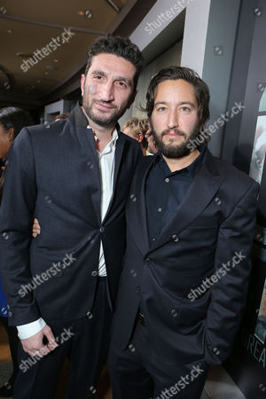 HOLLYWOOD, CA - DECEMBER 10: Fares Fares and Producer Greg Shapiro at Columbia Pictures 'Zero Dark Thirty' Premiere at Dolby Theatre on December 10, 2012 in Hollywood, California. Fares Fares Greg Shapiro